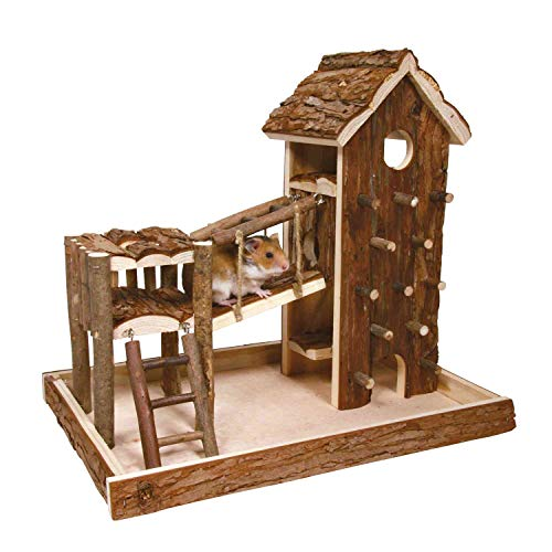 Trixie 61642 Natural Living Spielplatz Birger, 36 × 33 × 26 cm