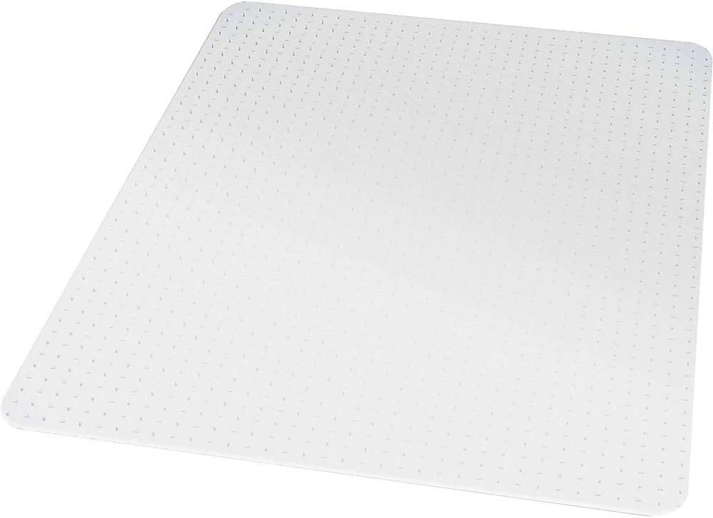 Staples 567302 Now on sale 46-Inch X 60-Inch Low Carpet Under blast sales Recta Pile Mat Chair