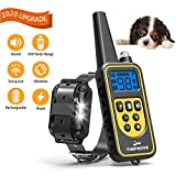 TIMPROVE 330 Yards Range Remote Dog Training Collar, Rechargeable and IPX7 Rainproof Dog