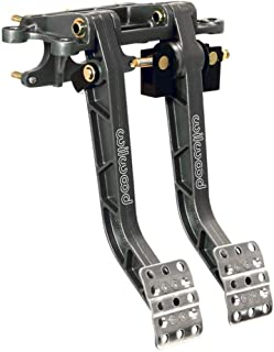 """Helix 324571 55-59 Chevy Truck FW 8/"""" Single Brake Pedal kit Drum~3in Blk Pad"""
