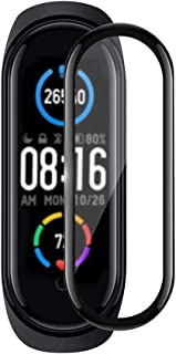 Miitech Xiaomi Mi Band 5 フィルム 【2枚セット】強化 ガラスフィルム 液晶保護フィルム 3D全面保護 9H硬度 気泡ゼロ 飛散防止 指紋防止 99%透過率 Xiaomi Mi Band 5 専用