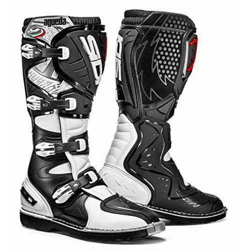 Sidi Agueda Botas de Motocross (–Color Blanco/Negro