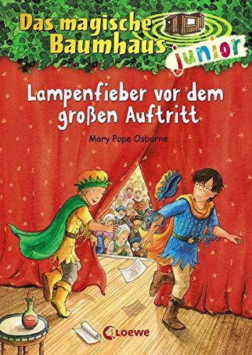 Das magische Baumhaus junior 23 - Lampenfieber vor dem großen Auftritt: Kinderbuch zum Vorlesen und ersten Selberlesen - Mit farbigen Illustrationen - Für Mädchen und Jungen ab 6 Jahre