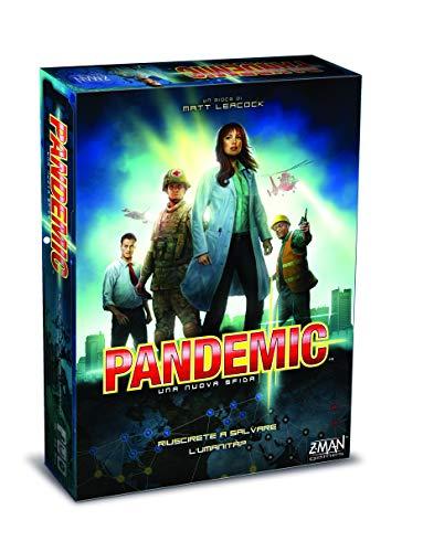 Asmodee- Pandemic Una Nuova Sfida Gioco da Tavolo, Multicolore, 8380