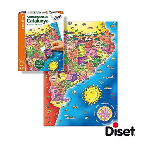 Diset- NOU Comarques de Catalunya (63664)