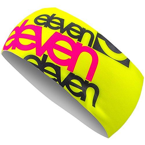 Sport-Stirnband Eleven für Laufen, Radfahren, Wandern, Skifahren, Fitness und Crossfit (Damen und Herren) Einheitsgröße Fluo