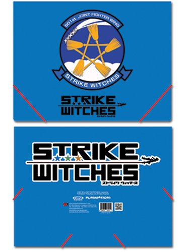 Strike Witches Logo Elastic Band Document Dossier