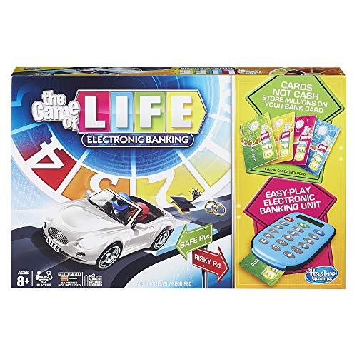 Hasbro The Game of Life Electronic Banking