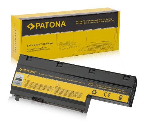 PATONA Batterie adapté pour Laptop/Notebook Medion Akoya E7211, E7212, MD97437, MD97288, MD97447, MD97513, MD97558, MD97860, MD98160, MD98190, P7611, P7612, P7614, P7810 Li-ION, 4400mAh, Noir