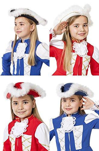 Kinder Hut Tanzmariechen Karneval Fasching blau