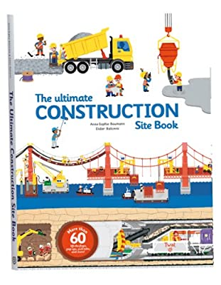 The Ultimate Construction Site Book is an amazing interactive book with a lot to discover.