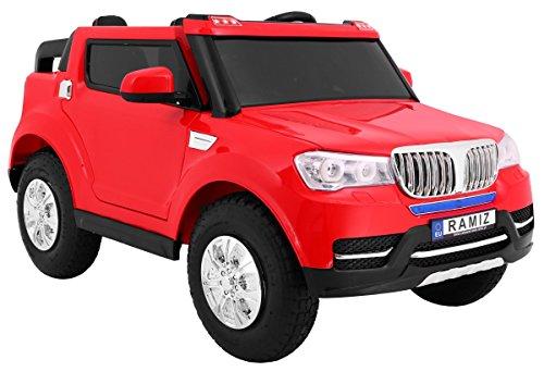RC Auto kaufen Kinderauto Bild 5: BSD Elektro Kinderauto Elektrisch Ride On Kinderfahrzeug Elektroauto Fernbedienung - S8088 AIR Gepumpte Räder 2-Sitzer - Rot*