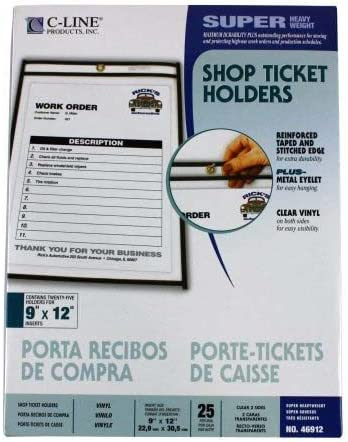 C-Line Products Inc. - Limited Special Price Shop Holder Super sale period limited Stitched Ticket 6