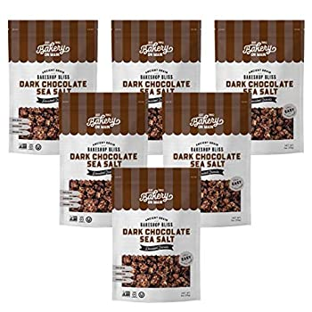 Bakery On Main Bakery Gluten-Free Bunches of Crunches Granola Dark Chocolate Sea Salt 11 Oz Pack of 6