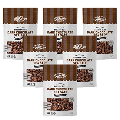 Bakery On Main Gluten-Free Bunches of Crunches Granola, 11 Bag, 6 Count (72346860) Dark Chocolate Sea Salt,66 Ounce