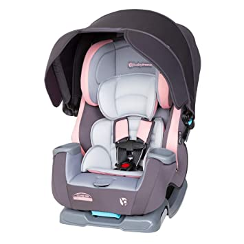 Baby Trend Cover Me 4 in 1 Convertible Car Seat, Quartz Pink: image