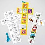 Baker Ross AT562 - Calendarios Semana Santa para Colorear para Niños (Paquete de 5)