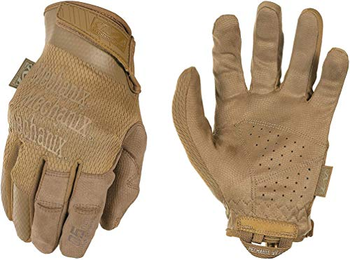 Mechanix Specialty 0.5 mm Coyote Gloves, Medium