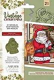 Nature's Garden Vintage Weihnachts-Stempel & Die-St.Nicholas, Silber, Einheitsgröße