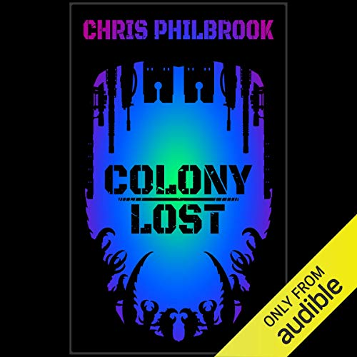 Colony Lost audiobook cover art