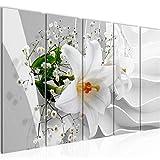 Bild Blumen Lilie 3D Kunstdruck Vlies Leinwandbild Wanddekoration Wohnzimmer Schlafzimmer 210356a