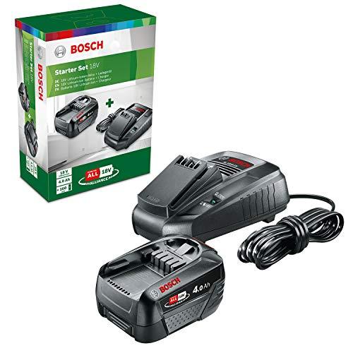 Bosch batería PBA 18V 4.0Ah W-C (sistema de 18 voltios, 4,0 Ah, en caja)