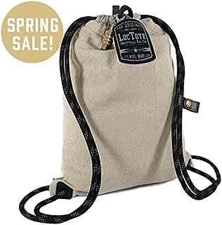 LOCTOTE Flak Sack SPORT - Lightweight Theft-Resistant Drawstring Backpack | Lockable | Slash-