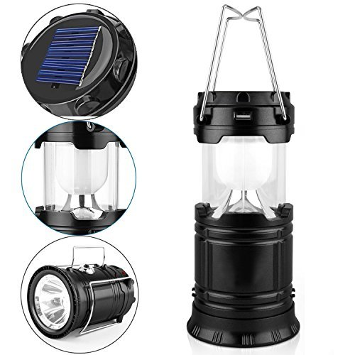 GAXMI SOLAR CAMPING LANTERN RECHARGEABLE EMERGENCY LIGHT