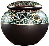 HSWYJJPFB Urnas Urnas para Cenizas Humanas Adultos Pequeña Cremación De Cremación De Cremación De Cremación