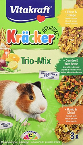 Vitakraft Kräcker Trio Citrus Gemüse Honig MS (5 x 3er) x 168g