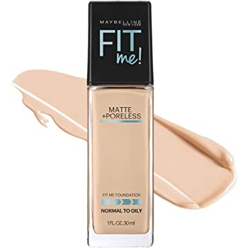 メイベリン フィットミー リキッド ファンデーション 122 標準的な肌色(ピンク系)