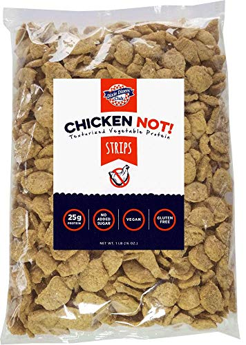 Dixie Diners' Club - Chicken (Not!) Strips, 1 lb bag (Pack of 2)
