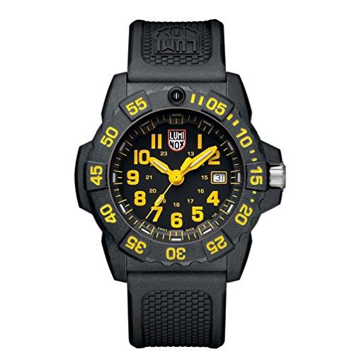 Luminox Navy Seal Quartz Movement Black Dial Men's Watch XS.3505