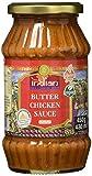 TRULY INDIAN Butter Chicken Sauce – Mild-würzige Fertigsauce für schnelle Gerichte mit natürlichen Zutaten – Authentisch indisch kochen – Vegan & glutenfrei –3 x 450 g
