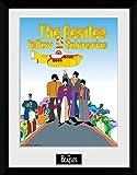 1art1 The Beatles - Yellow Submarine Gerahmtes Bild Mit