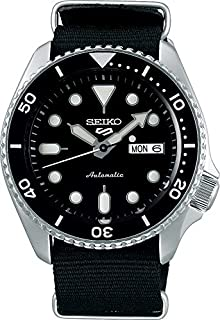 Seiko Men's Analogue Automatic Watch with Cloth Strap SRPD55K3