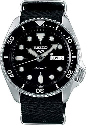 Reloj Seiko para Hombre, Negro, Sport, 5K3