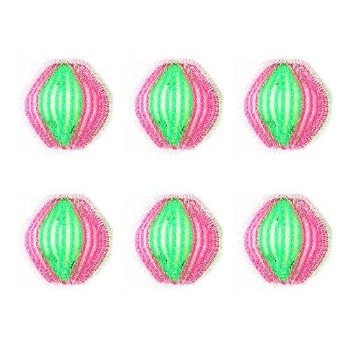 6 Piezas Bolas de Limpieza Lavado para Colada Magicas Lavadora Bola de Plástico