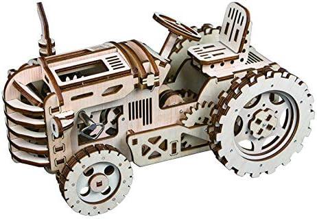 DIY 3D Wooden 5 Max 89% OFF ☆ popular Puzzle Laser-Cut Mechanical Model K Wind-Up