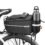 E-More Bolsa Trasera para Bicicleta, Bolsa de Maletero de Bicicleta 10L, Bolsa Asiento Trasero de Bicicleta para Portaequipajes, Portaequipajes Trasero Impermeable para Bicicleta Bolsas Aislantes