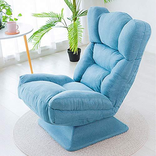 Silla giratoria de 360 °, silla reclinable ergonómica de escritorio de oficina...
