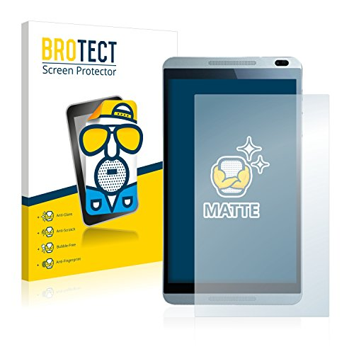 BROTECT 2X Entspiegelungs-Schutzfolie kompatibel mit Huawei MediaPad M1 Bildschirmschutz-Folie Matt, Anti-Reflex, Anti-Fingerprint