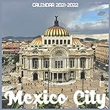 Mexico City Calendar 2021-2022: April 2021 Through December 2022 Square Photo Book Monthly Planner Mexico City, small calendar