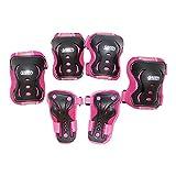 Mejor deporte Protector Set para los niños, color Pink/Black, tamaño Medium , color/modelo surtido