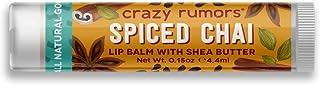 Crazy Rumors Balsamo Per Le Labbra, Spiced Chai - 30 g