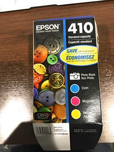Epson T410520 (410) Ink Cartridge, Photo Black/Cyan/Magenta/Yellow, 4/PK Louisiana