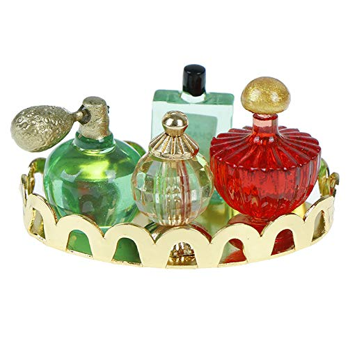 WWmily 1:12 Dollhouse mini parfum set simulatie parfum model speelgoed