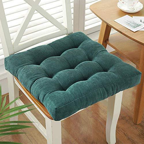 YANJ Cojines de silla, cojín sedentario cómodo de invierno grueso silla de jardín Cushion-C_5050 cm, cojín elevador de sillón