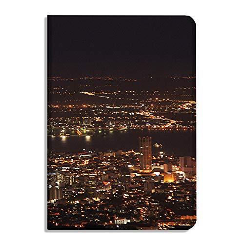 Penang Night Scene - Funda para iPad Air 11 pulgadas 2020 - Multi-ángulo de visualización Folio Smart Stand Cover Cover Auto Sleep/Wake, Penang Hill Penang Malasia