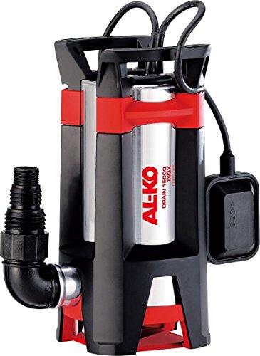 AL-KO Schmutzwassertauchpumpe Drain 15000Inox Comfort (1.110 W Motorleistung, 15.000 l/h max. Fördermenge, 11 m max. Förderhöhe, 35 mm max Korngröße)